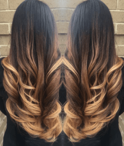 Ombre balayage highlighting by Urban Halo Salon